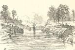 The Canal Near Mindi, Looking Towards Gatun, June 23, 1888, 697