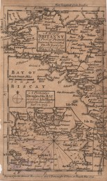 A Map of Brittany, Miscellaneous Correspondence, 1764