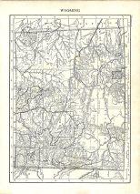 Map of Wyoming, Encyclopaedia, Vol 28, 1911