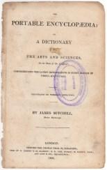 Portable Encyclopaedia, 1826