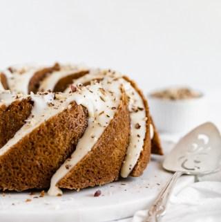 Hazelnut-chai-spice-cake