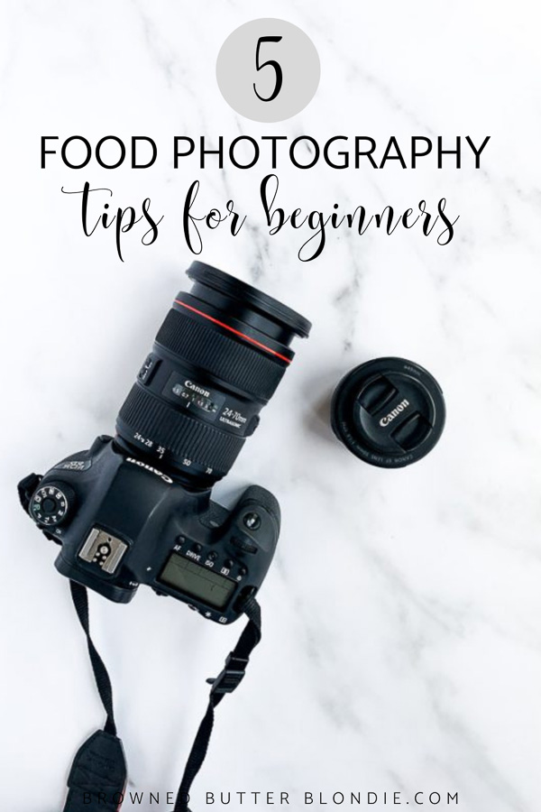 Five Tips for Beginning Food Photographers