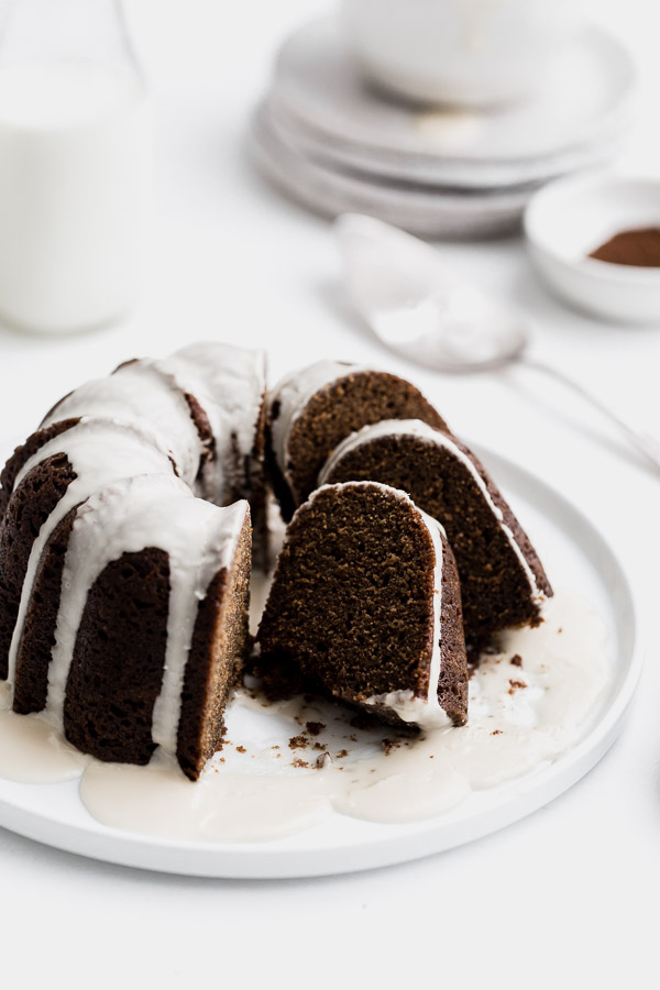 Bundt Cake With Brown Butter & Maple Glaze