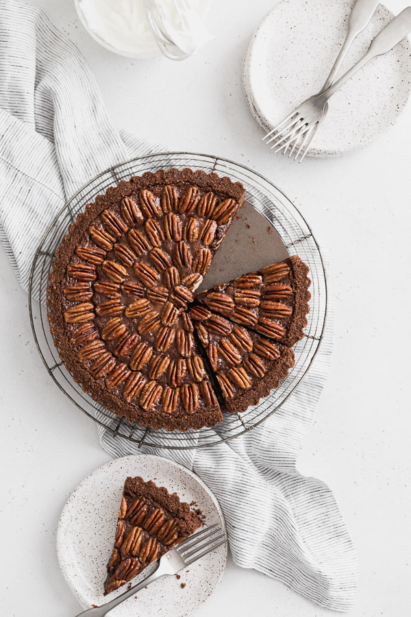 Browned-butter-chocolate-pecan-tart
