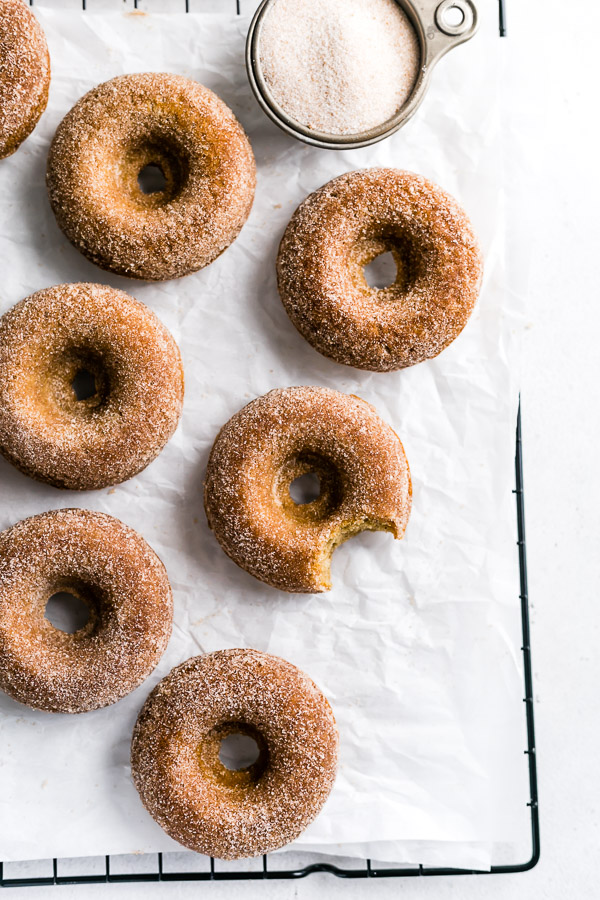homemade apple cider donuts