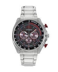 Citizen Eco-Drive Men's Chronograph with Stainless Steel Bracelet-0