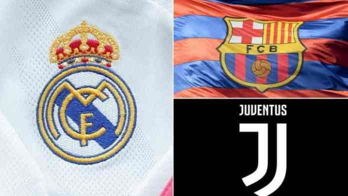 Barcelona, Real Madrid and Juventus ''set to be banned from the Champions League this week''