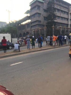 Worshippers at TB Joshua's church stranded, as building is locked up