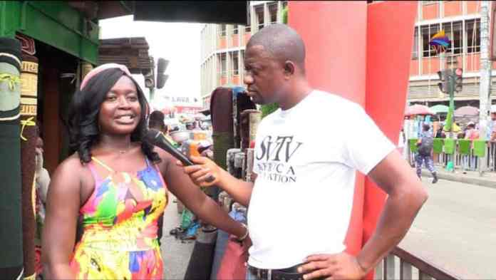 Men always sleep with my friends because of their laziness - Young lady