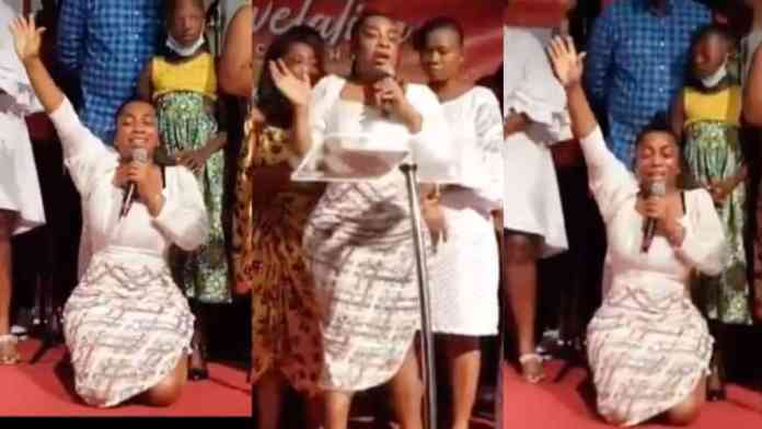 Moesha Boduong must reduce her artificial butt if she has really repented or she will go to hell-Jesus Ahuofe (Video)