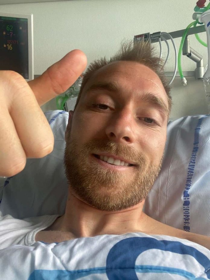 I'm fine -under the circumstances'-Christian Eriksen offers update on his condition following collapse