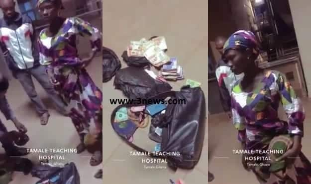 Woman caught with GHS 10,000 cash paid her to steal baby at Tamale Teaching Hospital (Video)