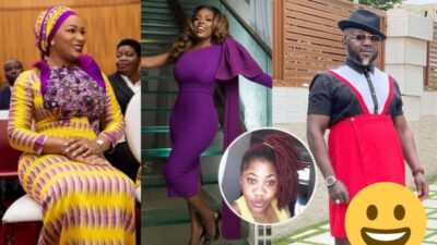 Upon all your all-knowing attitude you still got laid by a man who wears skirts — Lady mocks Nana Aba Anamoah