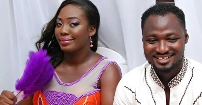 Photo of Wedding invitation card of Funny Face's ex-wife, Elizabeth marrying another man Pops up