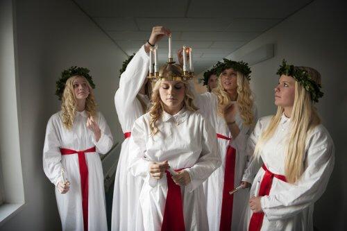 noel tradition : sainte lucie