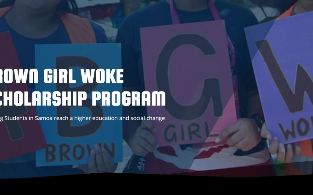 Brown Girl Woke Scholarship Program