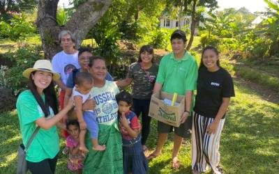 BGW Teams up with Apia International Christian Church