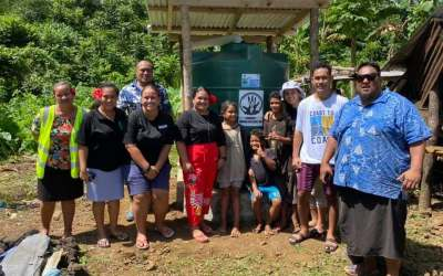 Providing Clean Water in Samoa