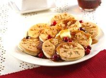 pancakes snowflakes