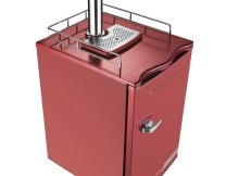 Nostalgia KRS6100RETRORED 6.1-Cubic Foot Retro Series Full Size Kegerator with Stainless Steel Tap Tower