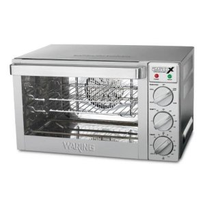 Waring Commercial WCO250X 1/4-Sheet Pan Sized Convection Oven