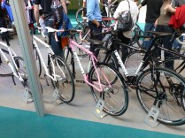 Why do some manufacturers insist on making female specific bikes pink? Most women I know grew out of Barbie in childhood.