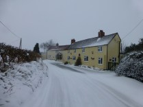 Toll Gate Cottage on the corner of Pouk Lane looked cosy.