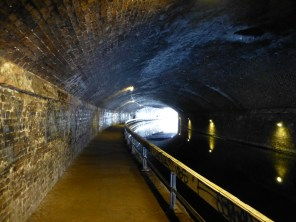 This tunnel is lit beautifully, with a wide, safe footpath. I've aways loved it.