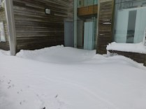 The north side of the Innovation Centre is slightly inaccessible...