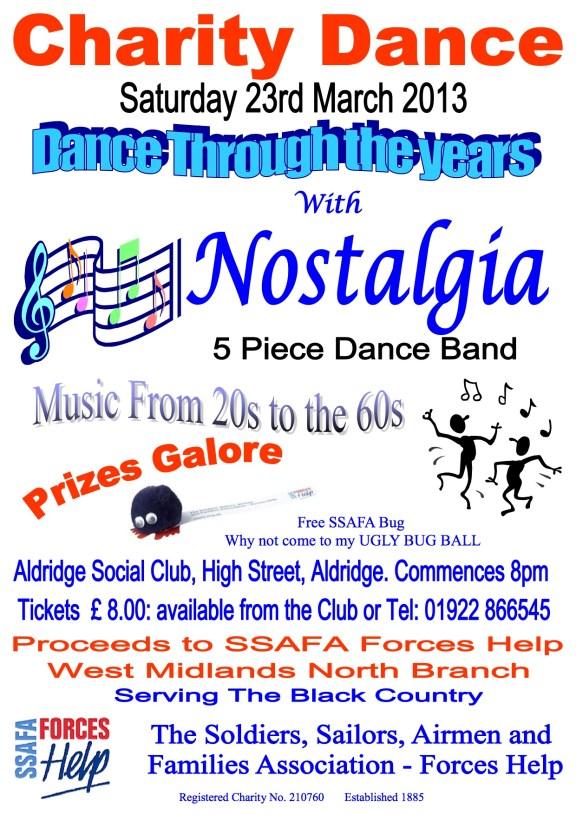 SSAFA Dance Poster 2