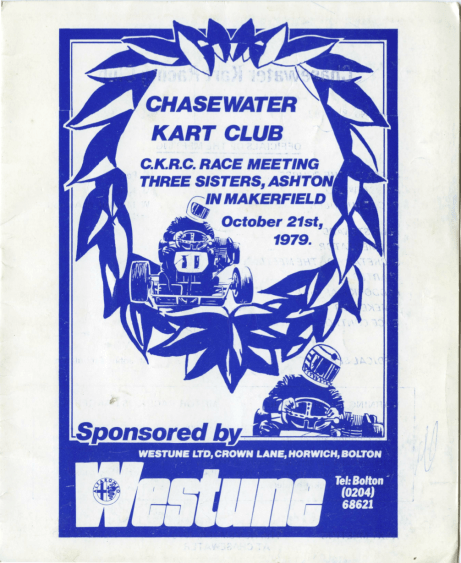 Chasewater Kart Race Oct 21st 1979