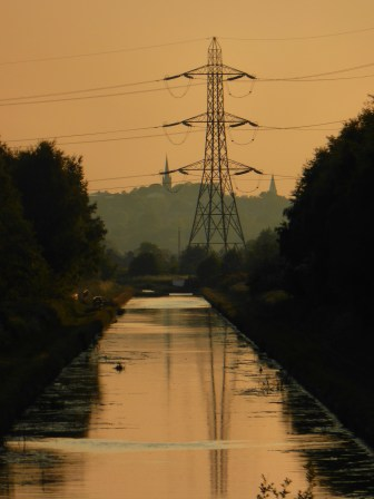Rushall Juntion looking to Wednesbury down the Tame Valley