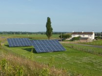 Solar panels at Hademore