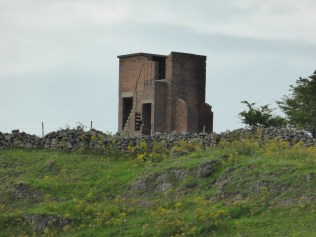 Brassington anti-aircraft post, a remarkable survivor from the war.