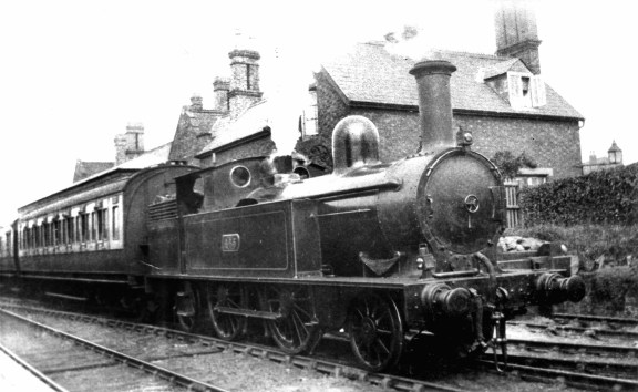 WLHC2923 Brownhills Railway Station, early 1900s