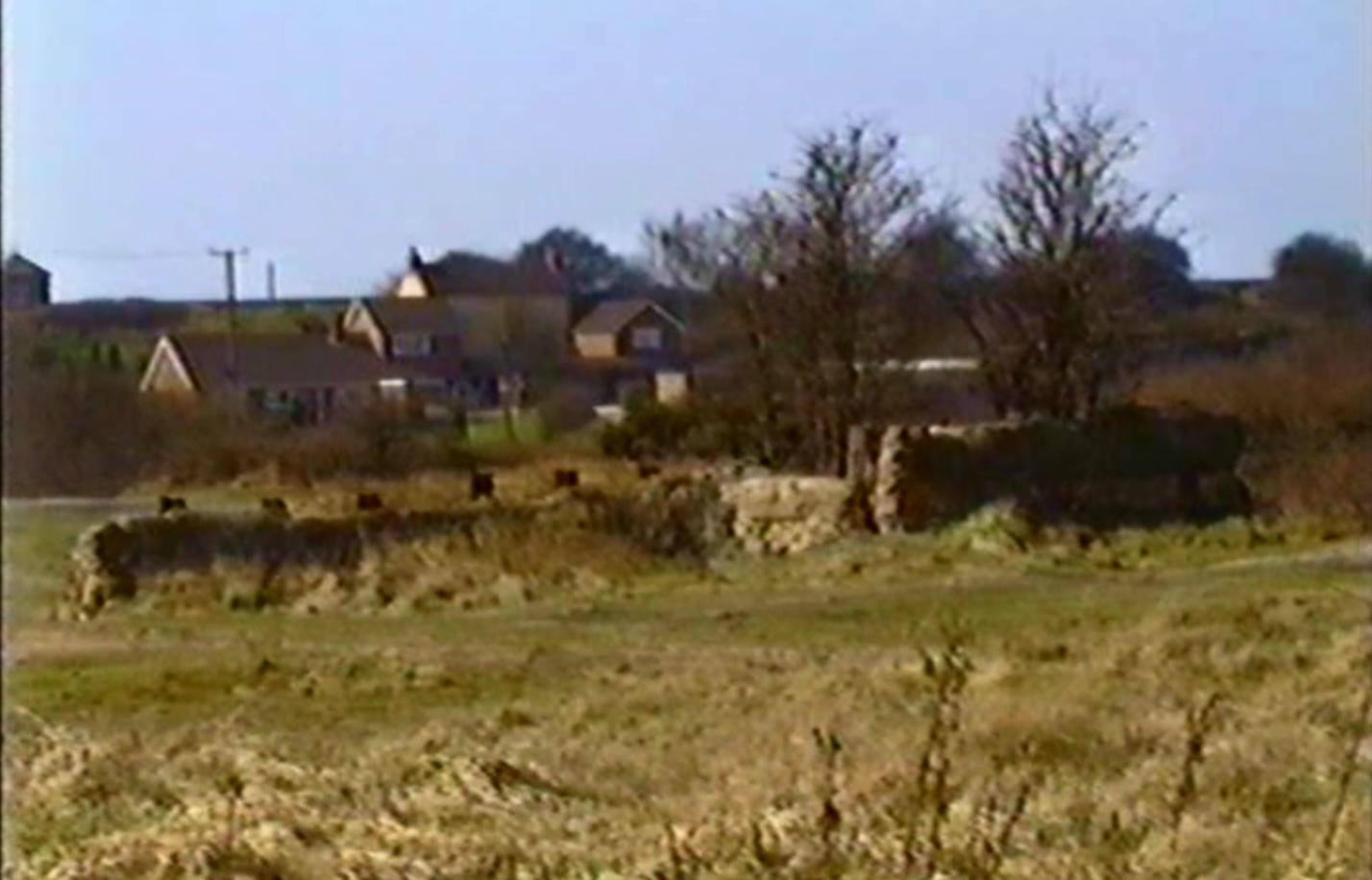 From 1993 video: Anglesey wharf drift remains