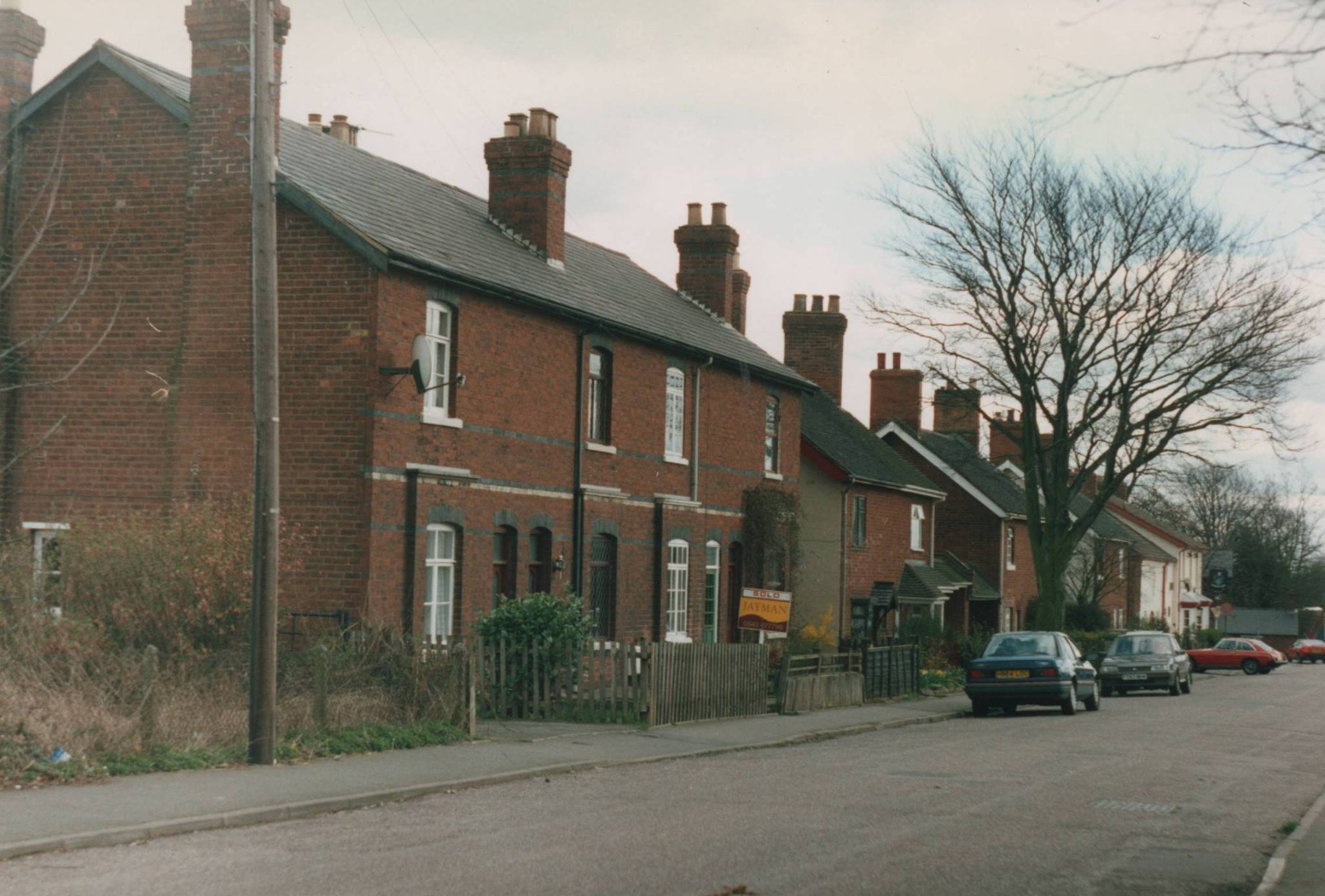 Church Street, Chasetown, the original first house built 1993