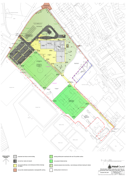 Proposed Site Plan Revised