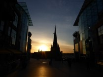 I love the way the new Bullring made a centrepiece of St. Martins - an otherwise odd but handsome church.