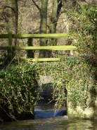 Hints Ford footbridge: must be under considerable side-pressure.