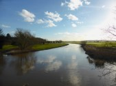 South from Elford Bridge - surprisingly all in order.