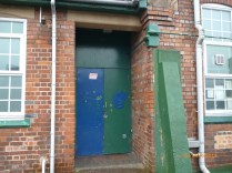 The main entrance. Image courtesy David Evans.