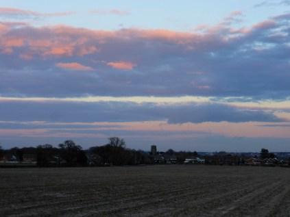 Drayton Bassett sunset