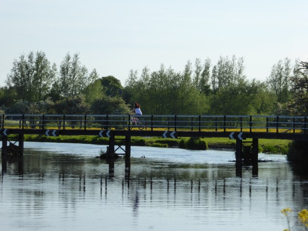 The river section of the Trent & Mersey Canal at Alrewas