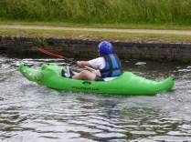 Croc canoe - how ace!