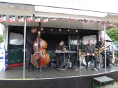 The Jazz band were ace...