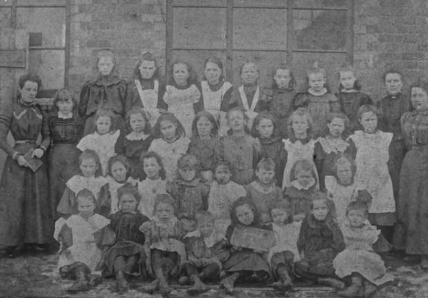 St John's School Walsall Wood 1900