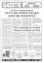Brownhills Gazette November 1994_000001