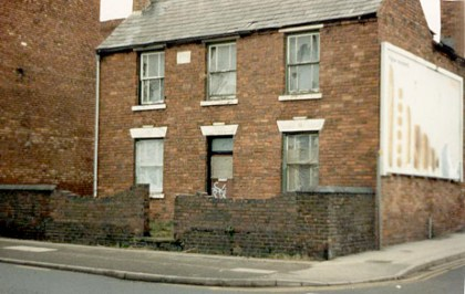 Front of premises (Laburnum Cottage) we purchased in Brownhills in 1986. Image very kindly supplied by John Sylvester.