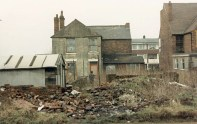 Back of premises (Laburnum Cottage) we purchased in Brownhills in 1986. Image very kindly supplied by John Sylvester.
